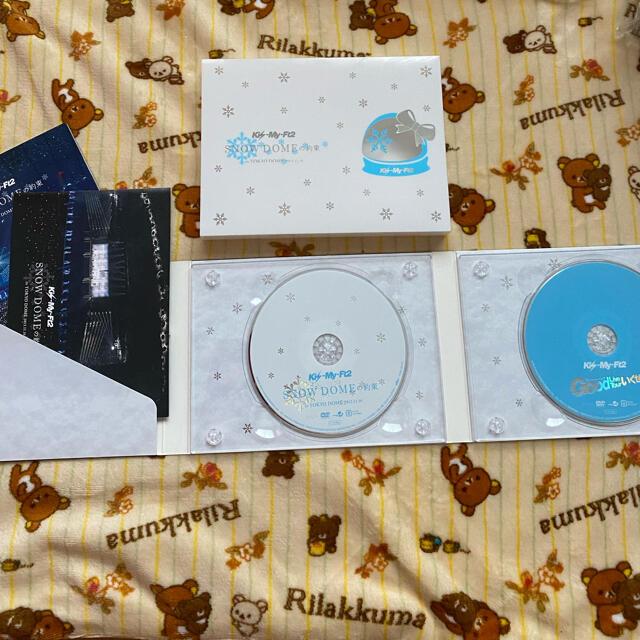 Kis-My-Ft2(キスマイフットツー)のSNOW DOMEの約束 Kis-My-Ft2 エンタメ/ホビーのDVD/ブルーレイ(アイドル)の商品写真