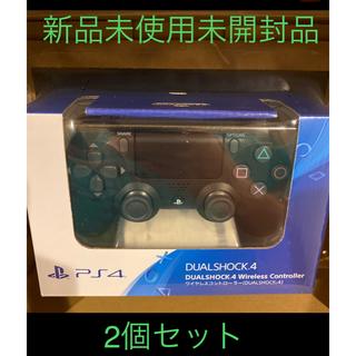 PlayStation4 - ワイヤレスコントローラー(DUALSHOCK4) ジェット・ブラック2個セット