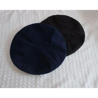 ユニクロ(UNIQLO)のユニクロ ベレー帽 2枚組(ハンチング/ベレー帽)