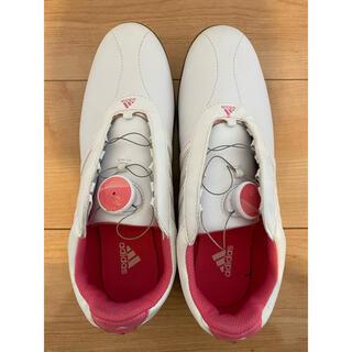 adidas - adidasゴルフシューズ(シューズケース付き)