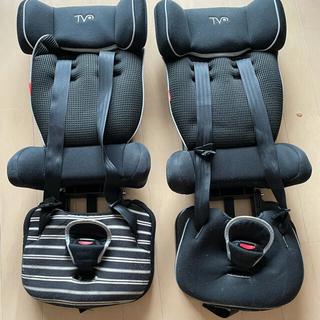日本育児 コンパクトチャイルドシート2台(自動車用チャイルドシートクッション)