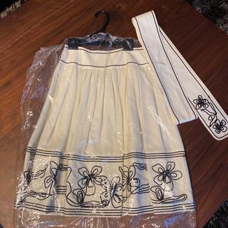 チェスティ(Chesty)のチェスティ 刺繍フレアスカート(ひざ丈スカート)