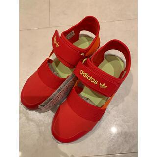 アディダス(adidas)の新品未使用! アディダス サンダル 19センチ(サンダル)