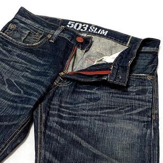 エドウィン(EDWIN)のEDWIN エドウィン BT5032 SLIM 濃紺 デニム サイズ30(デニム/ジーンズ)