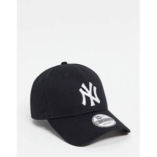 New Era ★NY キャップ 帽子 ブラック ★送料込