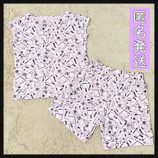 ジーユー(GU)の○断捨離○コスメ柄ルームウェア 上下セット パジャマ かわいい GU(ルームウェア)