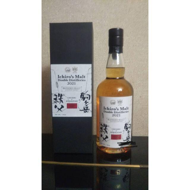 イチローズモルトダブルディスティラリーズ秩父×駒ヶ岳2021 食品/飲料/酒の酒(ウイスキー)の商品写真