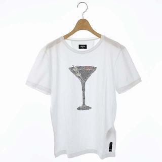 FENDI - フェンディ ストーン装飾カクテルグラスTシャツ