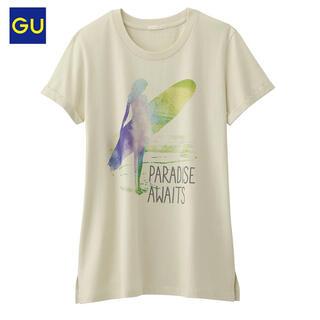 ジーユー(GU)の値下げ‼︎美品‼︎ジーユー gu グラフィック ハワイアン Tシャツ 半袖(Tシャツ(半袖/袖なし))