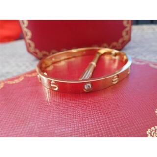 Cartier - cartier / love——bracelet diamonds size 1