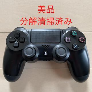 PlayStation4 - 美品 SONY PS4 純正 コントローラー DUALSHOCK4 ブラック