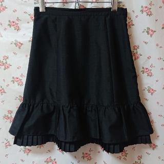 エミリーテンプルキュート(Emily Temple cute)のエミキュ スカート ② ブラック(ひざ丈スカート)
