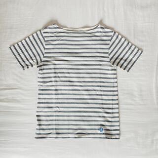 オーシバル(ORCIVAL)のORCIVALボートネックTシャツ(ten101987様専用)(Tシャツ(半袖/袖なし))