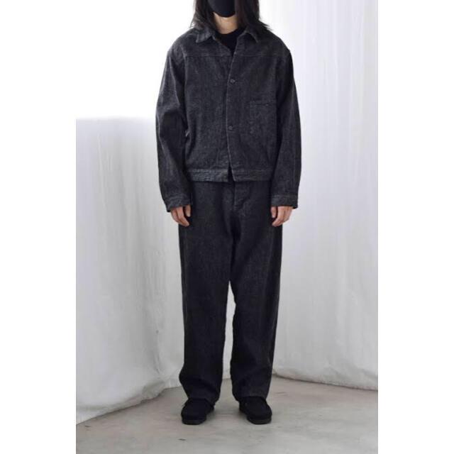 COMOLI(コモリ)の21ss comoli ベルテッド デニム メンズのパンツ(デニム/ジーンズ)の商品写真