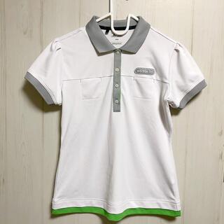 アディダス(adidas)のadidas GOLF アディダスゴルフ 半袖 ポロシャツ ホワイト(ウエア)
