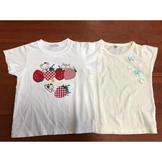 familiar - 新品未使用 ファミリア おはなしTシャツ 100