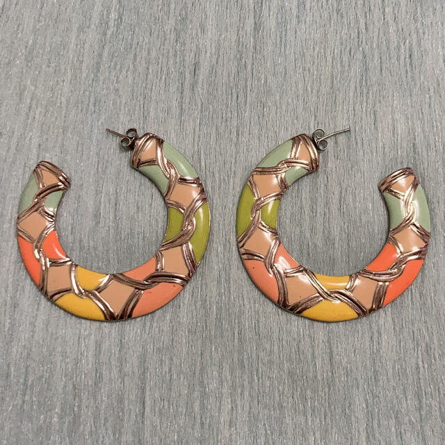 Lochie(ロキエ)のヴィンテージ デザインフープピアス レディースのアクセサリー(ピアス)の商品写真