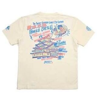 テッドマン(TEDMAN)の粋狂/姫路城/Tシャツ/ホワイト/SYT-201/カミナリモータース(Tシャツ/カットソー(半袖/袖なし))