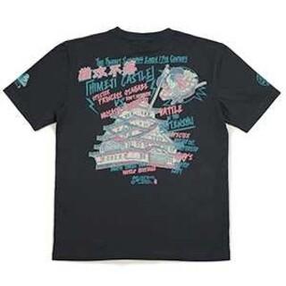 テッドマン(TEDMAN)の粋狂/姫路城/Tシャツ/ネイビー/SYT-201/カミナリモータース(Tシャツ/カットソー(半袖/袖なし))