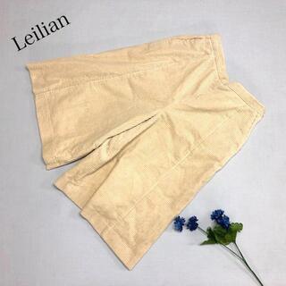 レリアン(leilian)の♪美品♪ Leilian コーデュロイ ワイドパンツ 7〜8分丈(バギーパンツ)