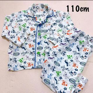 西松屋 - 西松屋:長袖パジャマ上下セット 110㎝