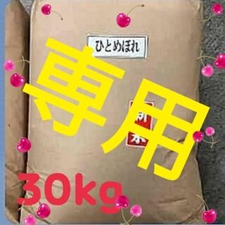 なっかん様専用 お米 岩手産ひとめぼれ 30kg 精米済 白米 米(米/穀物)