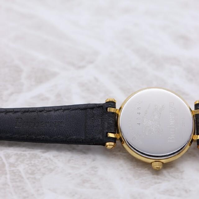 BURBERRY(バーバリー)の箱付き【新品電池】BURBERRY 3210/レディース 動作品 ヴィンテージ レディースのファッション小物(腕時計)の商品写真