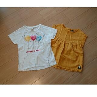 ザラキッズ(ZARA KIDS)の【女の子 120㎝】 トップス2枚セット(Tシャツ/カットソー)