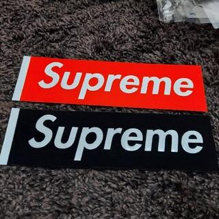 シュプリーム(Supreme)のSupreme Flocking Box Logo Sticker フェルト(その他)