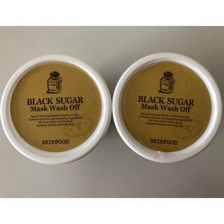 スキンフード(SKIN FOOD)のSKINFOOD ブラックシュガー マスク 2個セット(パック/フェイスマスク)
