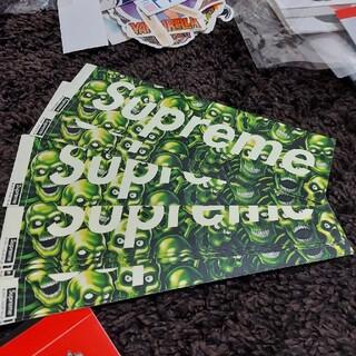 シュプリーム(Supreme)のSupreme skull スカルボックスロゴ ステッカー(その他)