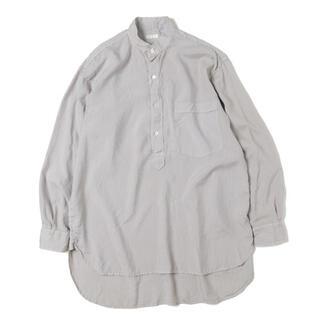 COMOLI - comoli 19aw シルクプルオーバーシャツ