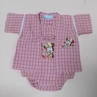 ディズニー(Disney)のベビーミニー 甚平  80(甚平/浴衣)