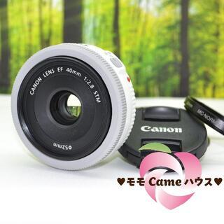 キヤノン(Canon)のキャノン EF 40mm F2.8 STM!明るい単焦点レンズ☆1652-1(レンズ(単焦点))