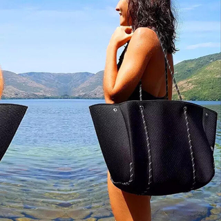 トートバッグ マザーズバッグ ネオプレンバッグ 大きめ 大容量 ベビーバッグ(マザーズバッグ)