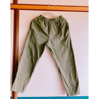 ジーユー(GU)の子供服 シェフパンツ 冬 140センチ(パンツ/スパッツ)