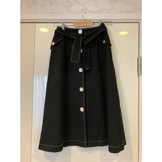 エムズグレイシー(M'S GRACY)のエムズグレイシー ステッチスカート 9(ひざ丈スカート)
