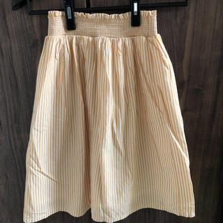 ジーユー(GU)のロングスカート(スカート)