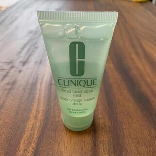 クリニーク(CLINIQUE)のクリニーク リキッドフェーシャルソープマイルド 30ml(洗顔料)