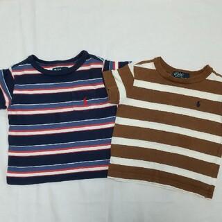 POLO RALPH LAUREN - ラルフローレン Tシャツ2枚セット 80サイズ