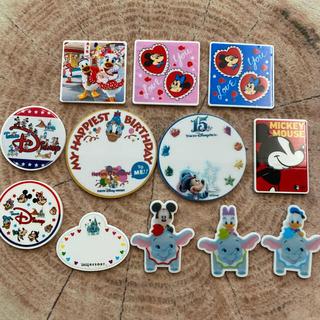 ディズニー(Disney)のディズニー プラパーツ 12枚セット バースデーシール ダンボ他(各種パーツ)