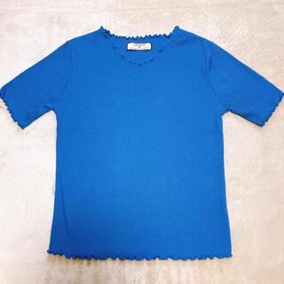 シマムラ(しまむら)のしまむら🍀半袖 リブTシャツ(Tシャツ(半袖/袖なし))