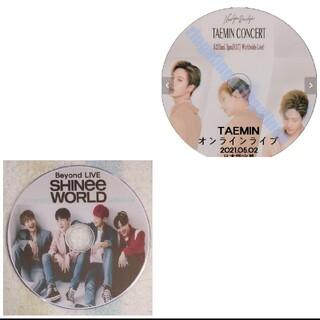 シャイニー(SHINee)のSHINee &TAEMIN★オンラインBeyond LIVE♡DVD2枚セット(ミュージック)