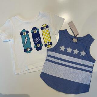 petit main - 【プティマイン】新品タグ付タンクトップ、Tシャツ80、90