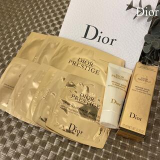 Dior - ディオール プレステージ Dior 基礎スキンケア お試しサンプル10点