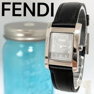 FENDI - 172 FENDI フェンディ時計 レディース腕時計 スクエア ブラック 人気