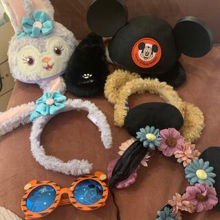 ディズニー(Disney)のディズニーカチューシャセット7点(キャラクターグッズ)