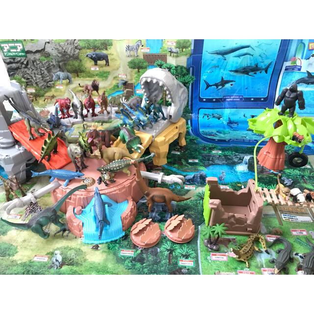 美品多数 アニア 恐竜 大量フィギュアセット エンタメ/ホビーのフィギュア(その他)の商品写真