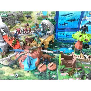 美品多数 アニア 恐竜 大量フィギュアセット