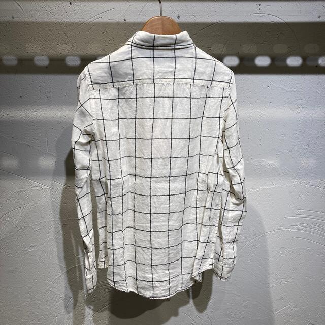 JOURNAL STANDARD(ジャーナルスタンダード)のrelumeレリューム/リネンチェックシャツ レディースのトップス(シャツ/ブラウス(長袖/七分))の商品写真